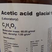 اسید استیک 100mL